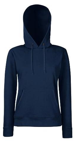 Damen Kapuzen Sweatshirt Hoodie Pullover Shirt verschiedene Größe und Farben - Shirtarena Bündel M,Deep Navy