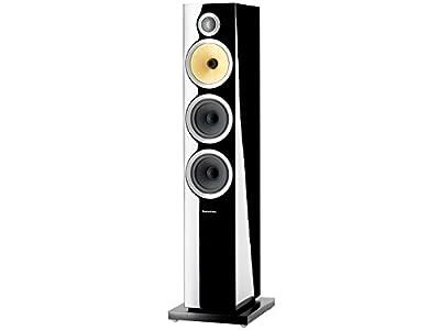 """Bowers & Wilkins CM8 S2 Black loudspeaker - loudspeakers (Universal, 3-way, Floor, 2.54 cm (1""""), 12.7 cm (5""""), 12.7 cm (5"""")) in offerta - Polaris Audio Hi Fi"""