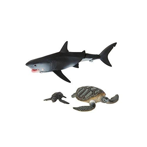 TOMY ANIA | Unter dem Meer - Spielset | Spielfigur mit beweglichen Gliedern | Hochwertiges Spielzeug für Kinder ab 3 Jahre | Tiere Spielzeug | Lernspielzeug - ideal als Geschenk