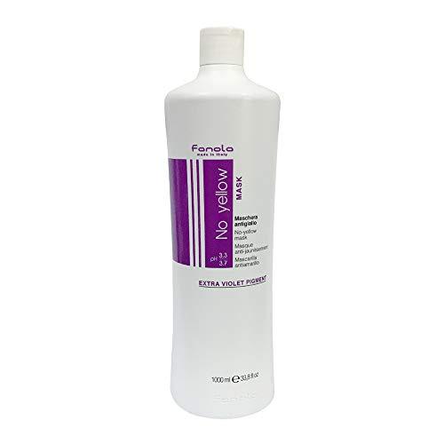 Scheda dettagliata Fanola No yellow Mask-Extra Violet Pigment/Maschera Antigiallo, 1000 ml