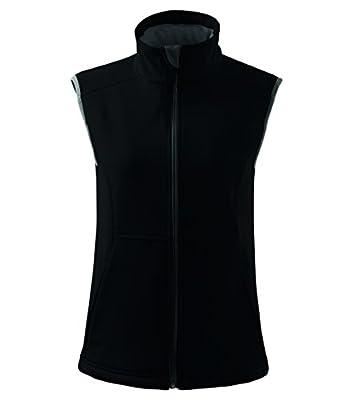 MIHEROS Sportwesten & Freizeitwesten - atmungaktiver Softshell Bodywarmer für Damen, weiblich tailliert geschnitten