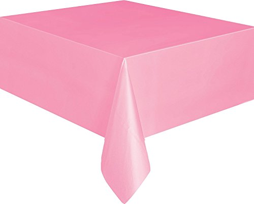 Accessori Arredo Party, Tovaglia Plastica Colorata * 18766 Colore -rosa