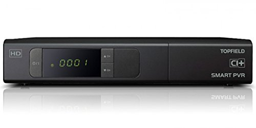 Topfield SRP 2401 CI+ Urban HDTV Sat Twin PVR inkl. 500 GB Festplatte, Android 4.2