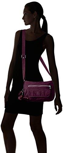 Kipling Syro, Borsa a Tracolla Donna Viola (Plum Purple)