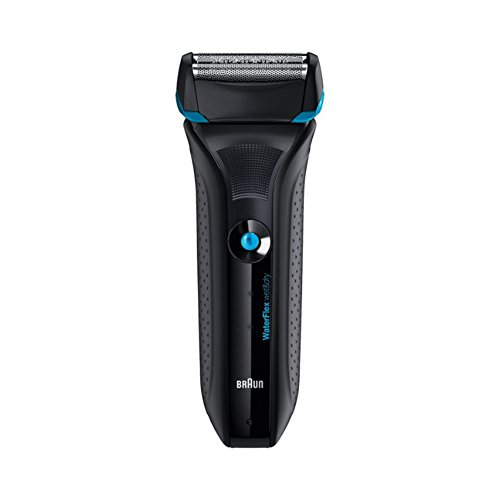 Braun Wf2s Electric Shaver Water Flex Wet&dry Fully Washable 100~240v (Black)