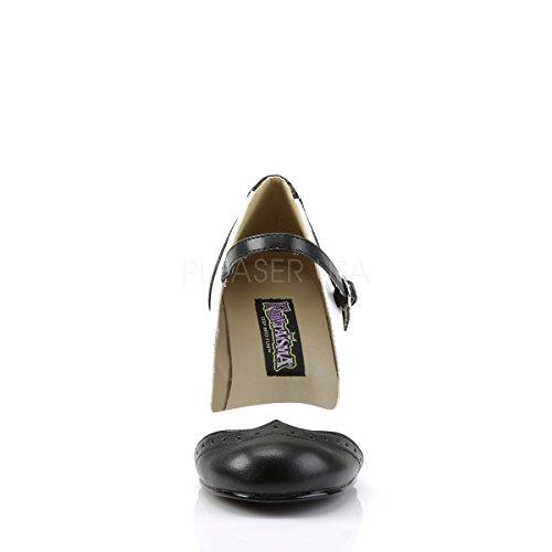 Higher-Heels, Scarpe con plateau donna Multicolore (schw./weiß)