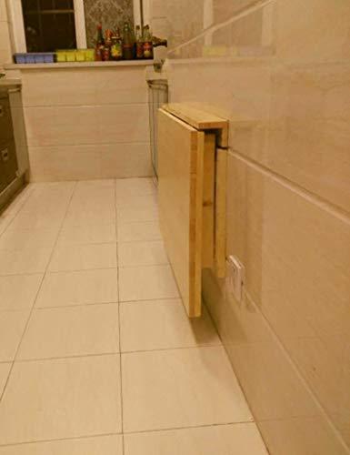 Wandbehang Computer Schreibtisch Klapp Esstisch Wand Laptop Tisch Schreibtisch (Größe: 80cm * 50cm) - Klapp-esstisch