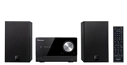 Pioneer X-CM35BT-K Micro-Hifi-System (2x 15 Watt, Bluetooth, NFC, Front-USB, CD, Streaming App) schwarz