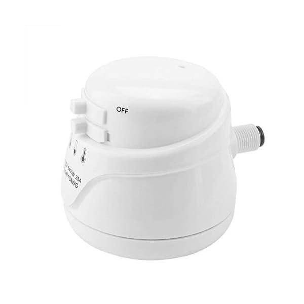 5400W Alcachofa de Ducha Eléctrica Boquilla de Ducha Portátil Calentador Instantáneo de Agua Alta Potencia…