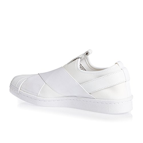 adidas Superstar Slip On, Chaussures de Tennis Femme Blanc