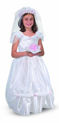 Bride Role Play Set: Bride Role Play - Child Bride Kostüm Halloween