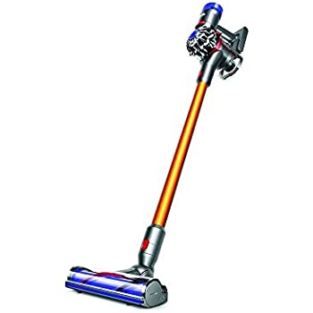 dyson v8 absolute beutel kabelloser staubsauger inkl 3 elektrob rsten mit. Black Bedroom Furniture Sets. Home Design Ideas