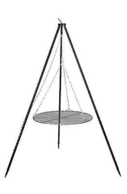 FARMCOOK Schwenkgrill NOBEL Dreibein mit Grillrost aus Rohstahl in 4 Größen (Ø 70 cm)