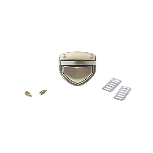 SimpleLife Turn Lock Twist Lock/Taschenzubehör Schnalle/Metallverschluss für DIY Handtasche Tasche Geldbörse Hardware Zubehör - Schnalle Handtasche Tasche