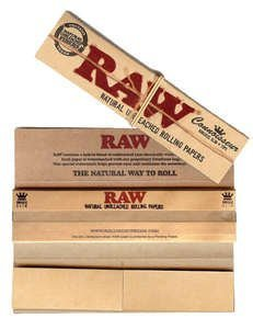 raw-raw-king-size-slim-papers-w-roach-tips-5-packs-x-32-by-raw