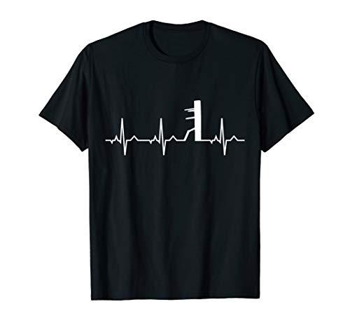 Wing Chun Shirt I Heartbeat Kampfsport MMA Karate Dojo Tee