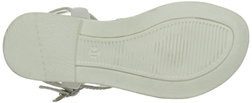 ASSO 40715, Sandales fille Blanc (White)