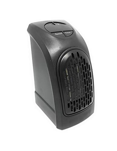 Estufa Eléctrica Calefactor Mini Portátil Handy Heater 350W Bajo Consumo Temperatura Regulable Baño...