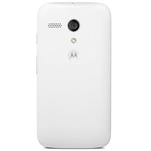 Motorola Color Shell Cover für Moto G 3G/4G LTE Smartphone weiß