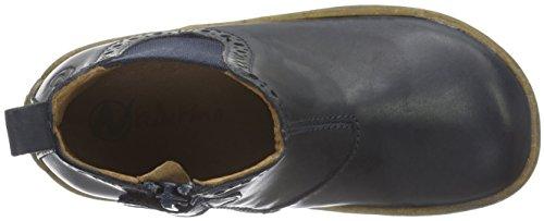 Naturino Unisex-Kinder Storm Chelsea Boots Blau (Blau_9101)