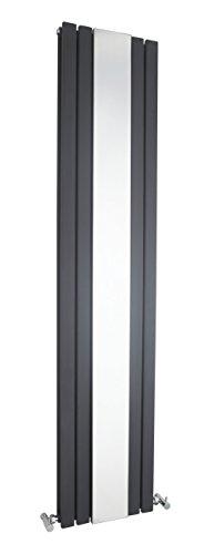 Hudson Reed hla841800x 381mm Sloane-Heizkörper Spiegel–Anthrazit