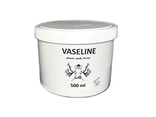 500 ml reine Pharma Vaseline weiß Tattoo & Piercing Körper-Pflege Hautschutz