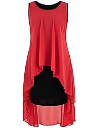 AO Extravagantes Abendkleid Vokuhila Kleid in Kleid Gr. XS - M