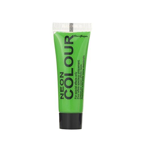 Body-paint-neon (Stargazer Products Neon Gesichtsfarbe, grün, 1er Pack (1 x 10 ml))