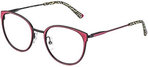 Occhiali da vista etnia barcelona manila red black donna
