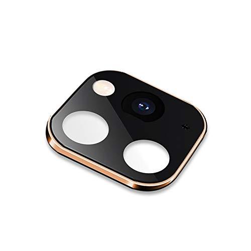 webcam cover, ip 11 pro/ip 11 pro max metal, cubierta protectora de la lente de plexiglás, for iphone x/xs/xs max (10 pcs) (color : gold)