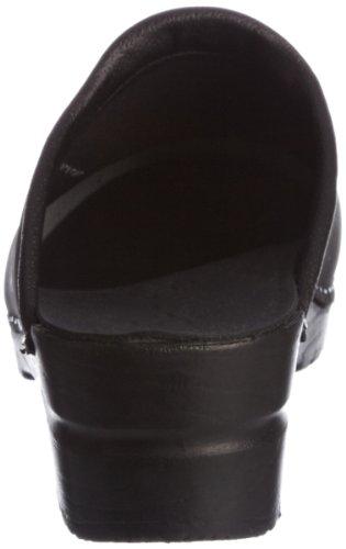 Sanita original femme sonja oil clogs &, mules à talons Noir - noir