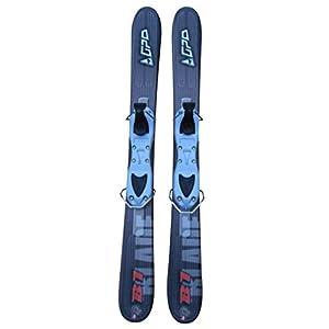 GPO Snowblade B1 | Kurz-Ski inkl. GC-001-Bindung | 99 cm Länge | Big-Foot-Ski für Herren und Damen