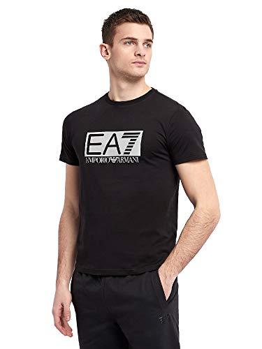 Armani T-shirts (Emporio Armani Maglia T-shirt Uomo Nero 3GPT81-PJM9Z-1200)