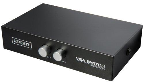 Transmedia CU8L SUB-D Switch für Monitore (2-fach)