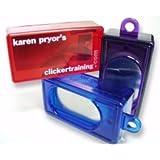 Clicker transparent - blau