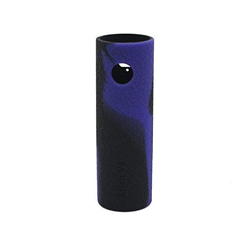 Rayee protectora funda de silicona Carcasa Skin Cover Para SMOK Stick V8Kit Black Purple