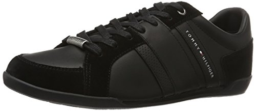 tommy-hilfiger-r2285oyal-3c2-scarpe-da-ginnastica-basse-uomo-nero-black-990-40-eu