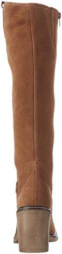 Bugatti V78383, Bottes Hautes Femme Marron (Cognac 644)