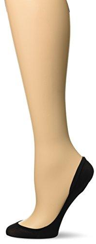 Hanes Women's Script X-Low Microfiber Foot Covers Dress Sock pack of 2