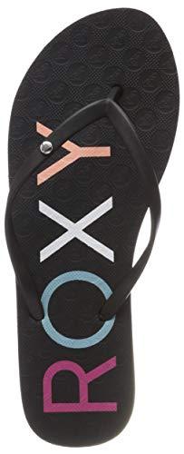 Roxy Sandy II, Zapatos Playa Piscina Mujer, Negro