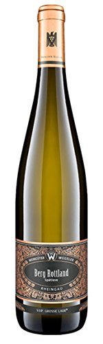 Wein Süße Riesling (Weingut Wegeler Rüdesheimer Berg rottland Riesling 2012 Süß (1 x 0.75 l))