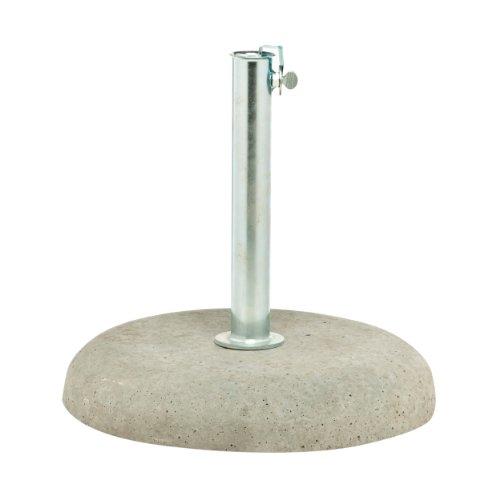 Schirmständer Beton rund für Stockmaß bis ø 3,8 cm