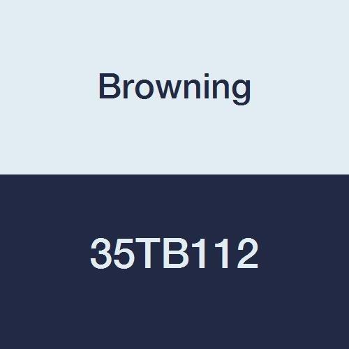 Browning 35tb112Roller Kettenrad, Single Strand, Taper Bohrung, gebürstetem, Stahl, 35Pitch, 112Zähne -