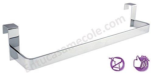 OXEN 321054 - Toallero sin taladros para mueble de baño (29 cm)