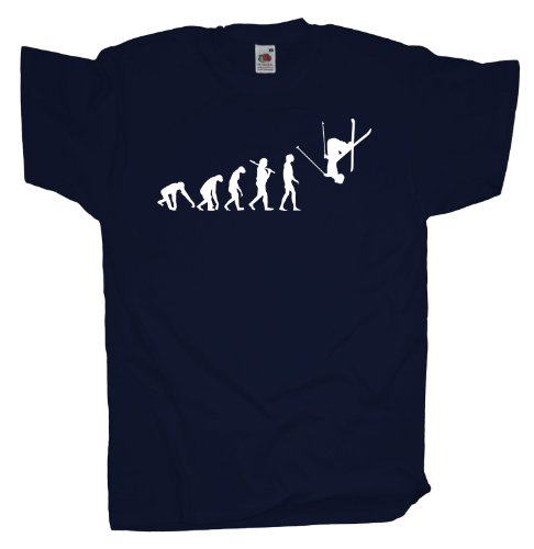 Ma2ca - Evolution - Freestyle Ski T-Shirt Navy