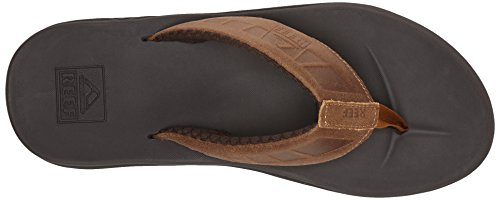 Reef Phantom, Tongs homme Marron (Brown/Tan)