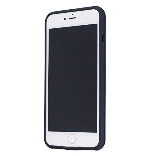 """MOONCASE iPhone 7 Plus Étui, Double Couche Hybride Soft TPU Intérieur + Anti-Dérapant Coque PC Robuste Anti-Scratch Antichoc Housse Etui de Protection Case pour iPhone 7 Plus 5.5"""" Violet Noir"""