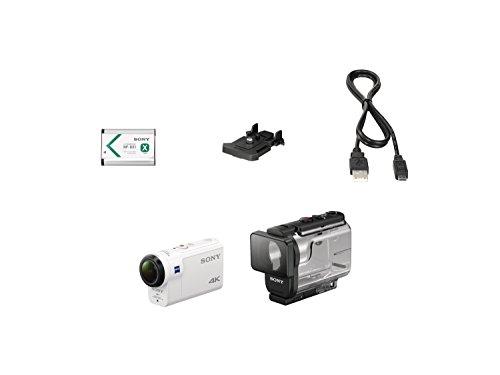 Sony FDR-X3000R 4K Action Cam mit BOSS (Exmor R CMOS Sensor, Carl Zeiss Tessar Optik, GPS, WiFi, NFC) mit RM-LVR3 Live View Remote Fernbedienung, weiß - 18