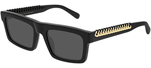 Stella mccartney occhiali da sole sc0208s black gold/grey 53/20/145 donna