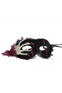 Skelett Hand Maske schwarz - Kostüm Party Halloween Cosplay - Zacs Alter Ego